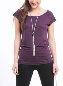 collares y blusas camiseta algodon organico bambu