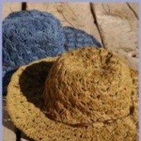 Sombrero Rafia Complementos Ecologicos