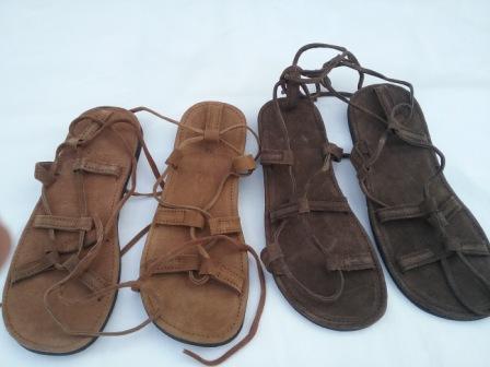 Sandalias Piel Ajustables -artesanales