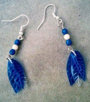 Pendientes Petricor Azul